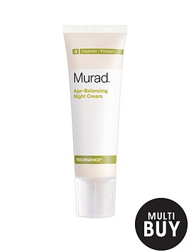 murad-free-gift-resurgence-age-balancing-night-cream-50mlnbspamp-free-murad-age-reform-exfoliating-cleanser-200ml