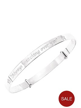 the-love-silver-collection-sterling-silver-guardian-angel-bangle-with-message-always-watching-over-you