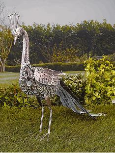 smart-solar-metal-silhouette-peacock