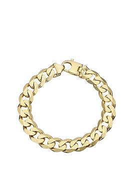 love-gold-9-carat-yellow-gold-approx-2oz-solid-diamond-cut-curb-bracelet