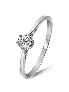 love-diamond-9-carat-white-gold-25pt-diamond-solitaire-ring