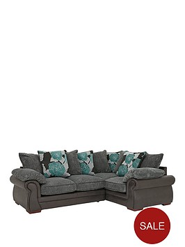 andorra-fabric-and-faux-snakeskin-right-hand-double-arm-scatter-back-corner-group-sofa