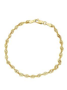 love-gold-9-carat-yellow-gold-twist-bracelet