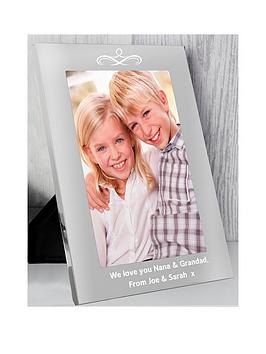 the-personalised-memento-company-personalised-silver-photo-frame