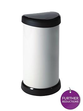 curver-40-litre-deco-bin-cream