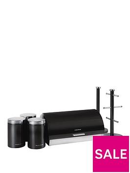 morphy-richards-6-piece-storage-set-black