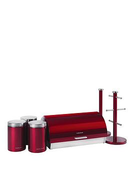 morphy-richards-6-piece-storage-set-red