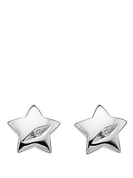 hot-diamonds-shooting-star-sterling-silver-and-diamond-star-earrings