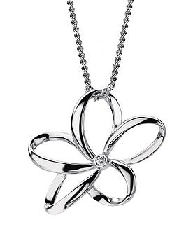 hot-diamonds-plumeria-sterling-silver-and-diamond-mini-pendant