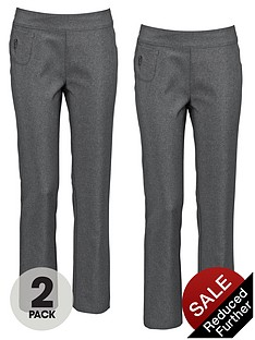 top-class-girls-pull-on-embellished-trousers-2-pack