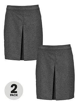 top-class-girls-kick-pleat-skirt-2-pack