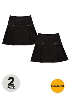 top-class-girls-permanent-pleat-kilt-skirts-2-pack