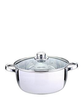 sabichi-stainless-steel-casserole-24-cm-essentials-range
