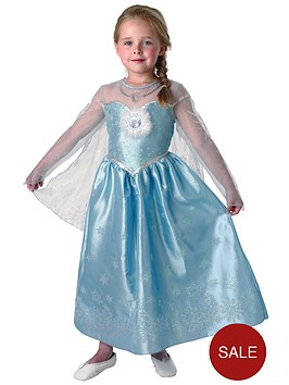 disney-frozen-girls-deluxe-elsa-snow-queen-kids-fancy-dress-costume