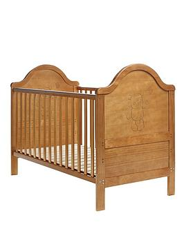 obaby-b-is-for-bear-cot-bed-free-sprung-mattress