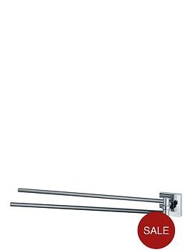 aqualux-haceka-mezzo-421-cm-adjustable-towel-rail