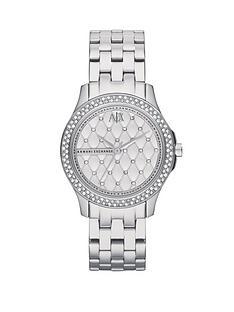 armani-exchange-silver-dial-stainless-steel-bracelet-ladies-watch