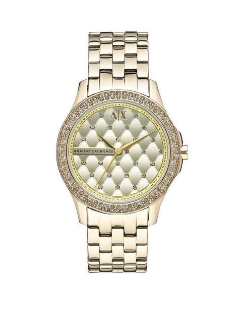 armani-exchange-gold-dial-gold-ip-plated-bracelet-ladies-watch