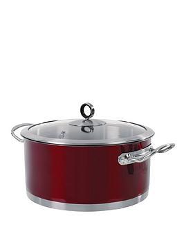 morphy-richards-casserole-pan-24-cm-red