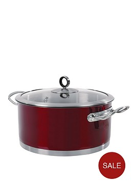 morphy-richards-casserole-pan-24-cm-red