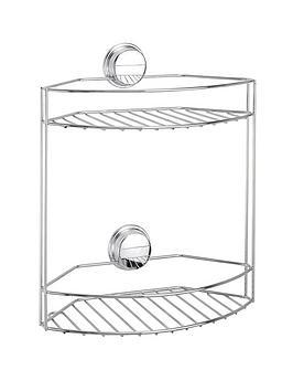 croydex-stick-n-lock-2-tier-basket