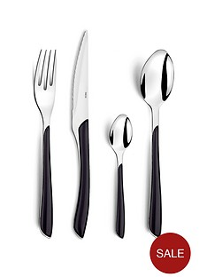 amefa-24-piece-colourful-eclat-cutlery-set-black