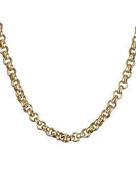 love-gold-9-carat-gold-18-inch-belcher-chain