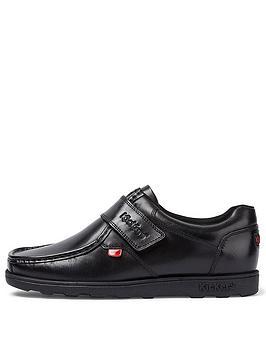 kickers-fragma-strap-shoe-black