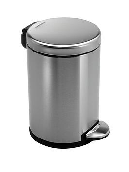 simplehuman-3-litre-brushed-steel-bin