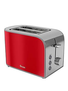 swan-st17020rn-retro-2-slice-toaster-red