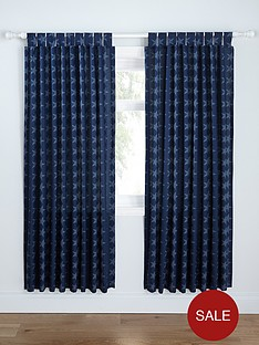 catherine-lansfield-stars-and-stripes-tab-top-curtains
