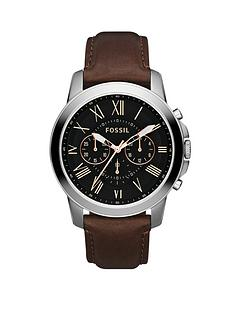 fossil-grant-black-dial-brown-leather-strap-mens-watch