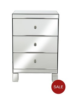 parisian-mirrored-3-drawer-ready-assembled-bedside-chest