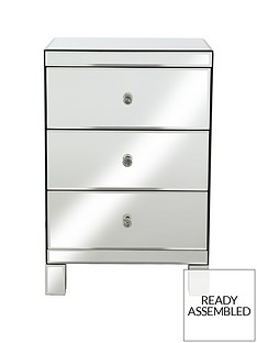 parisian-mirrored-3-rawer-ready-assembled-bedside-chest