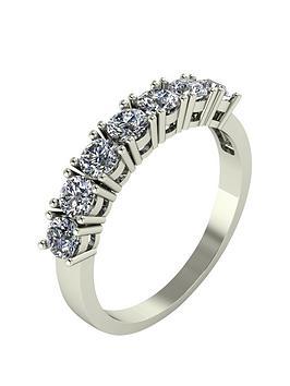 moissanite-1-carat-moissanite-9-carat-white-gold-7-stone-eternity-ring
