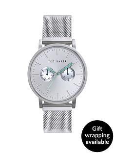 ted-baker-silver-dial-stainless-steel-mesh-bracelet-mens-watch