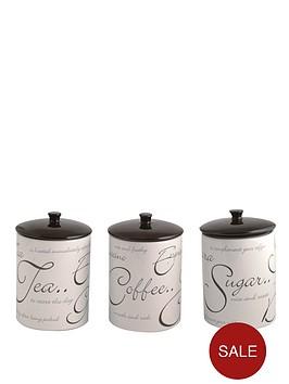 price-kensington-script-tea-coffee-and-sugar-canister-set