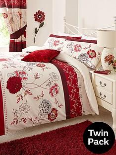 fern-twin-pack-easy-care-duvet-cover-set