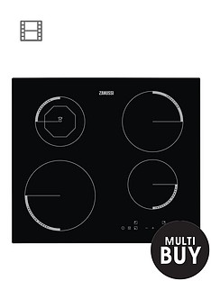 zanussi-zei6840fba-60cm-touch-control-induction-built-in-hob-black