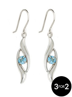 love-gem-9-carat-white-gold-blue-topaz-drop-earrings