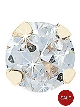 b6fd4892c Love DIAMOND 9 Carat Yellow Gold Diamond Nose Stud | littlewoodsireland.ie