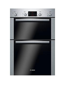 bosch-serie-6-hbm43b250b-classixx-60cm-built-in-double-multi-function-oven-with-3d-hotairnbsp--brushed-steel