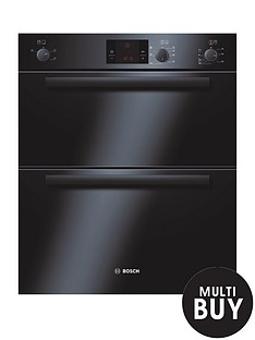 bosch-hbn13b261b-classixx-built-under-multi-function-double-hot-air-oven-black