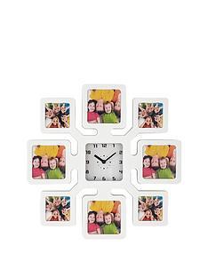 plastic-photo-frame-clock