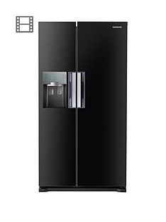 samsung-rs7667fhcbceu-frost-free-american-style-fridge-freezer-with-twin-cooling-plustrade-system-black