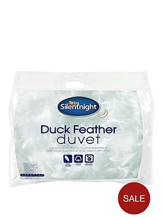 silentnight-105-tog-luxury-duck-feather-duvet