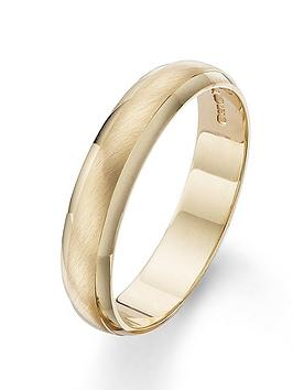 love-gold-9-carat-yellow-gold-4mm-matt-and-polished-wedding-band