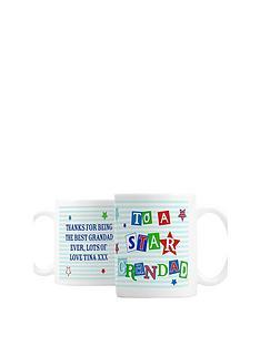 personalised-star-grandad-mug