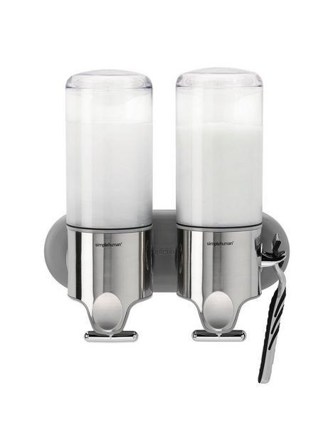 simplehuman-double-wall-mount-pump