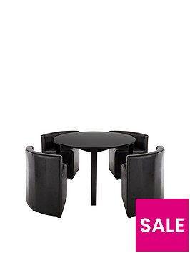 hideaway-106cm-dining-table-4-dining-chairs
